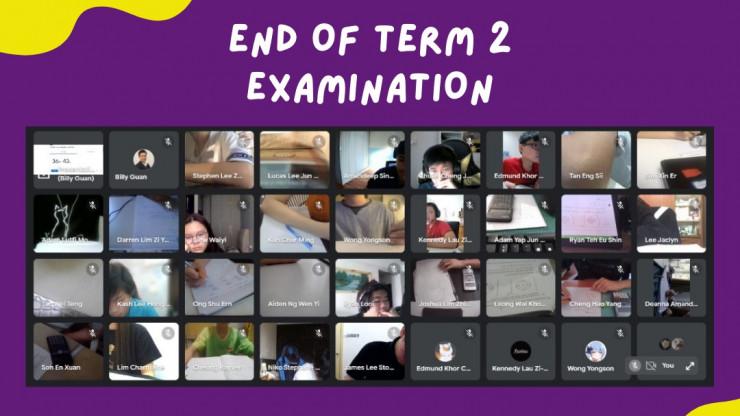 End Of Term 2 Examination